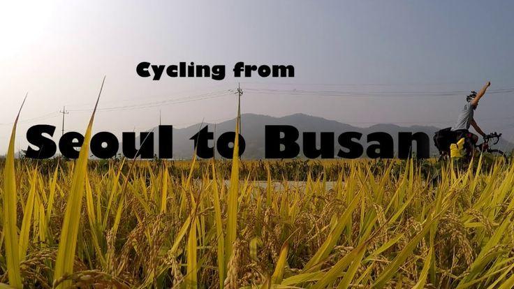 Cycle Seoul to Busan - 3DR Solo - GoPro HD