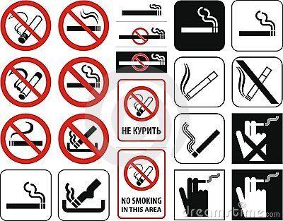 No smoking  (+ vector)