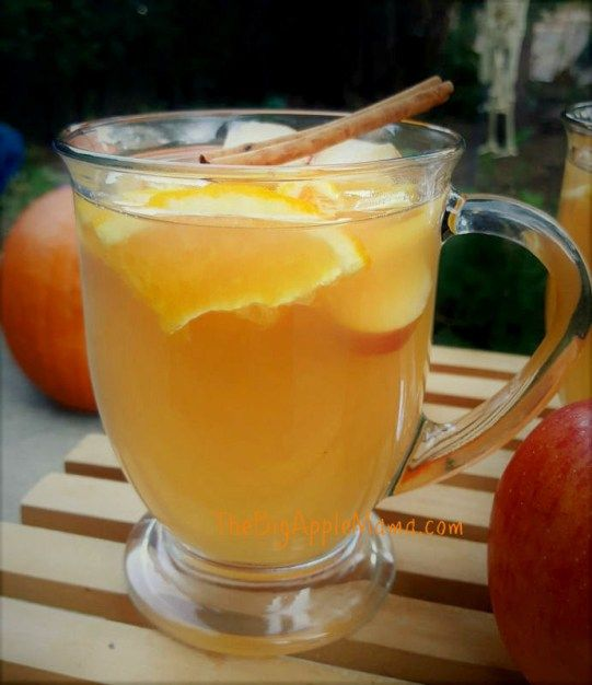 spiced apple cider spiced apples virgin drinks fast meals apple juice ...