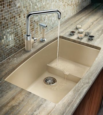 Advantages To Buy A Silgranit Kitchen Sink From Blanco | Modern .