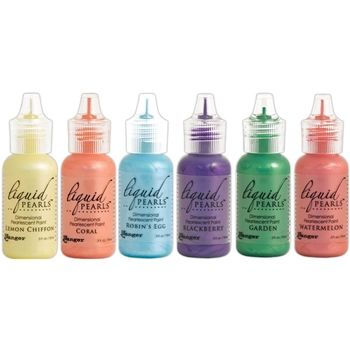 Ranger SET OF 6 Liquid Pearls Pearlescent Paint Ranger69