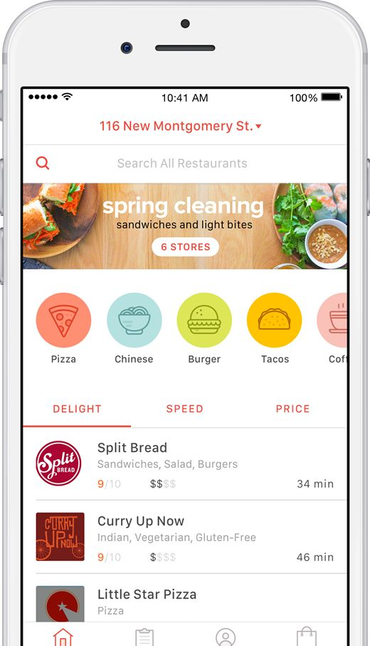 DoorDash Food Delivery - Delivering Now, From Restaurants Near You