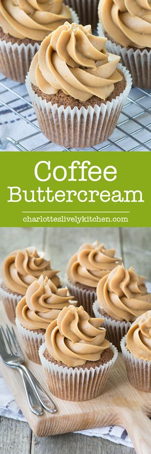 How to make perfect coffee buttercream icing. Ideal for cupcakes, macarons and layer cakes - especially coffee & walnut cake. Gluten Free.