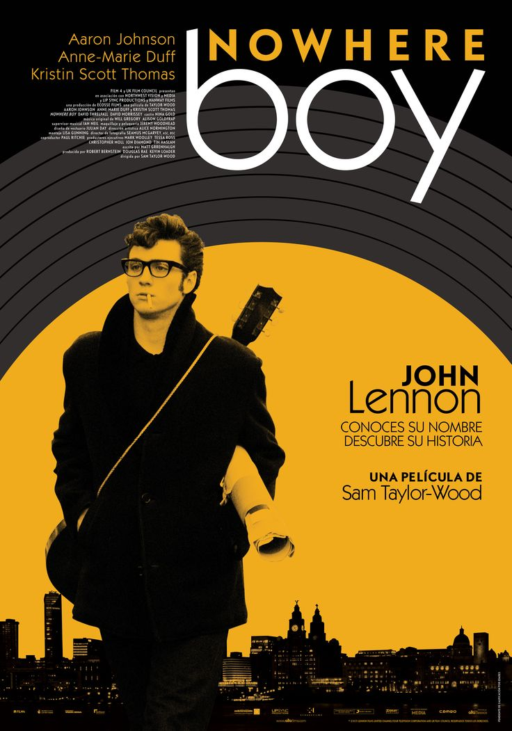 Nowhere boy [Material gráfico] / Director, Sam Taylor Wood.-- Gran Bretaña : [s.n.], 2009. 1CAR/119