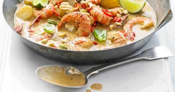 The best massaman curry recipe, our expert prawn massaman curry is one of our top Thai curry recipes to try. It's quick and easy to make