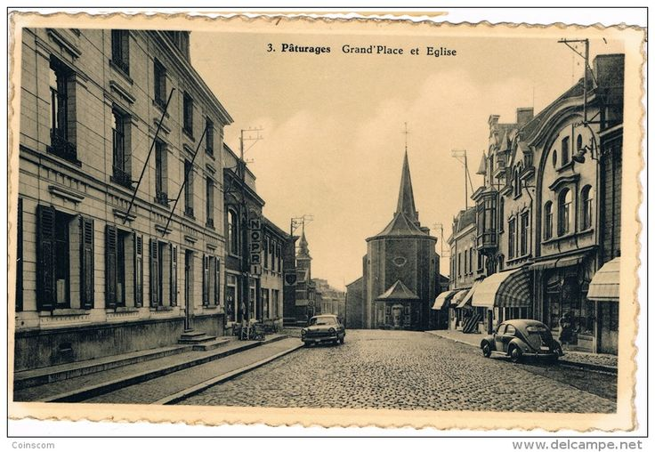 Pâturages Grand'Place et Eglise