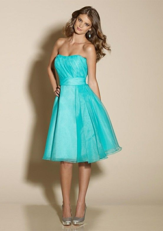 17 Best ideas about Tiffany Bridesmaid Dresses on Pinterest ...