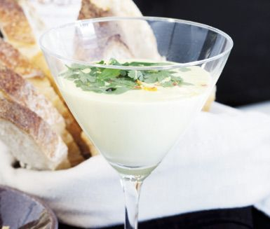 Recept: Parmesancrème