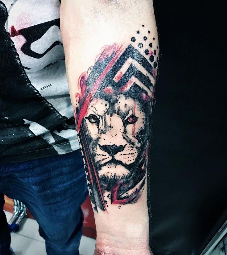 trash polka tattoo ideas