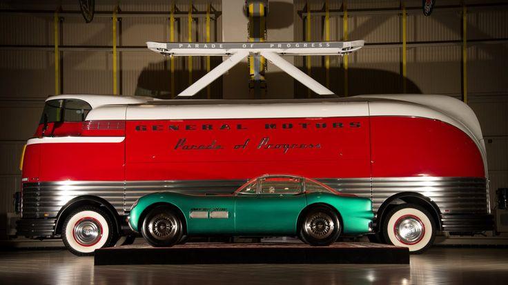 1940s Gm Futurliner Bus Concept Cars Pinterest Cars