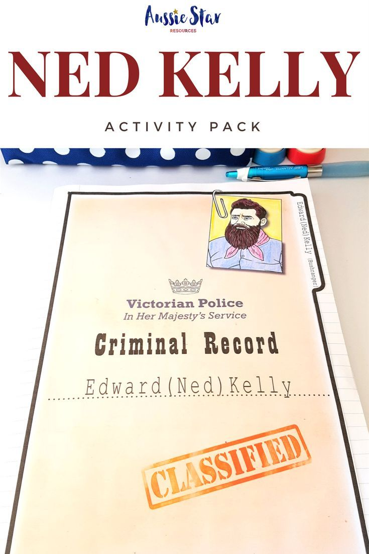 With over ten activities and 40 pages, this is the ultimate Ned Kelly teaching resource for your Australian History lessons Ned Kelly is an Australian legend the ultimate Aussie larrikin. People love to hear the stories of his run-ins with police, his abi