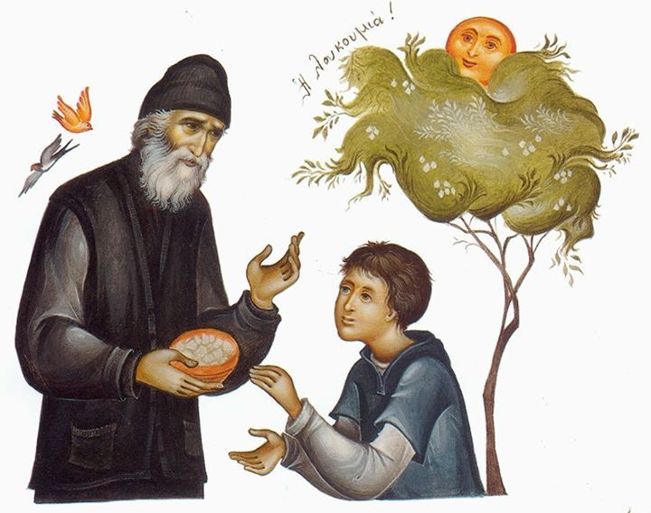 """I wish you many years — but not for them to be too happy, because happiness in the world isn't really so healthy. When a man is too happy in this world, he forgets God and forgets death."" – Elder Paisius May we ""remember God more often than [we] breathe."" (St. Gregory the Theologian) Lord Jesus Christ, Son of God, have mercy upon me a sinner."