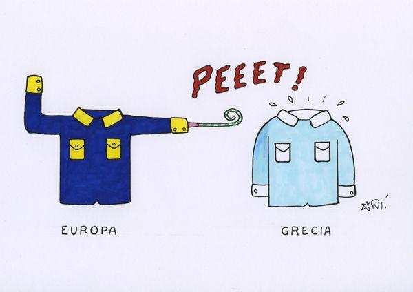 #satira #politica #grecia #europa #IoSeguoItalianComics