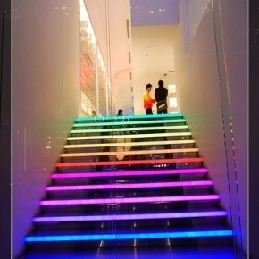 BEAUTIFUL LIGHT UP STAIRS  Dream Homes And Decor