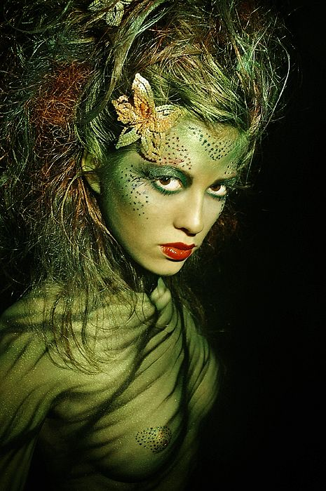 Fairy Portraits in Digital Photography | Absinthe Fairy: Photo by Photographer Evgeny Freeone - photo.net
