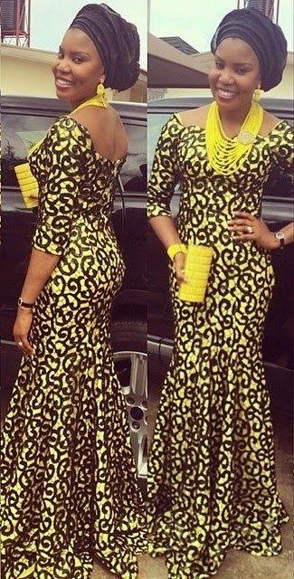 African Dress Ankara Style