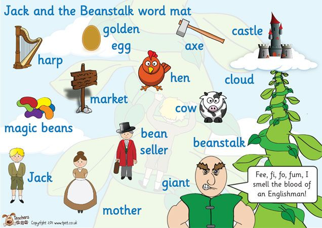 Teacher's Pet - Jack and the Beanstalk Word Mat - FREE Classroom Display Resource - EYFS, KS1, KS2, giant, magic, traditional, tale, bean, stalk, growth, plants, story, stories