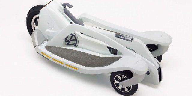 Volkswagen раскрывает свой электрический скутер Last Mile Surfer