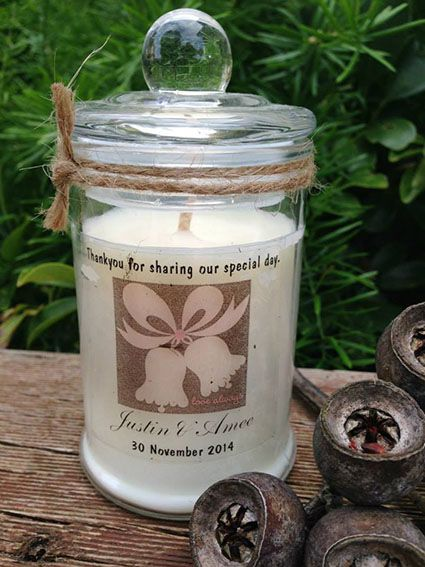 Wedding Soy Candle