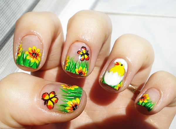 Best 25+ Easter nail designs ideas on Pinterest | Pretty nails, Easter nail  art and Bunny nails - Best 25+ Easter Nail Designs Ideas On Pinterest Pretty Nails