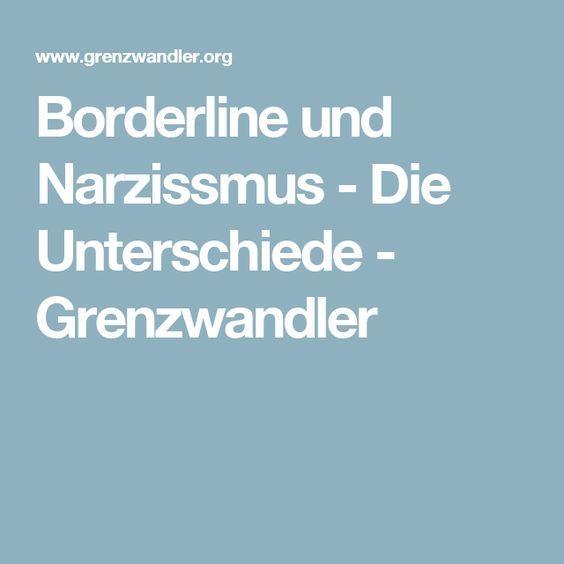 Borderline und Narzissmus - Die Unterschiede - Grenzwandler