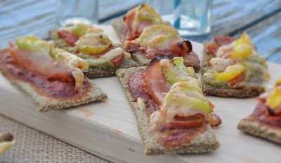 Troll a konyhámban: Pizzás rudak - vegán, paleo