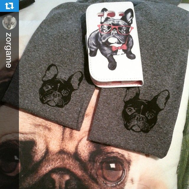 Virivee French bulldog tights #Repost from @zorgame