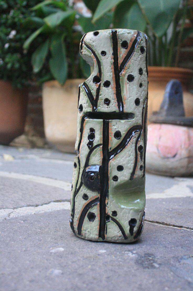 Ceramic sculpture by San Miguel de Allende artist Lino Arteaga