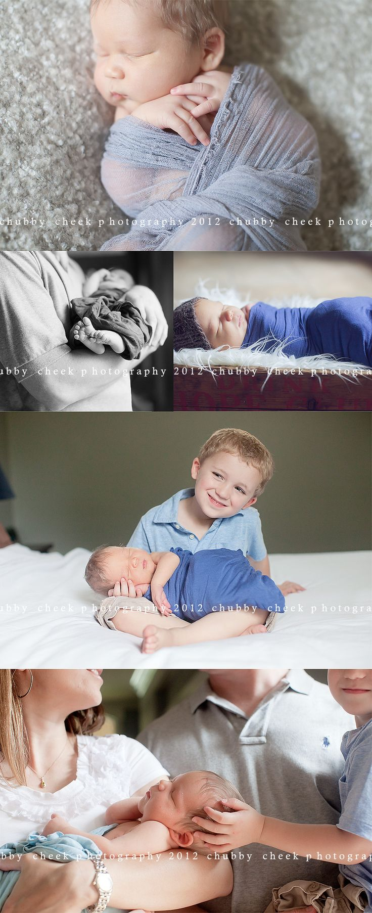 newborn shoot - chubby cheek