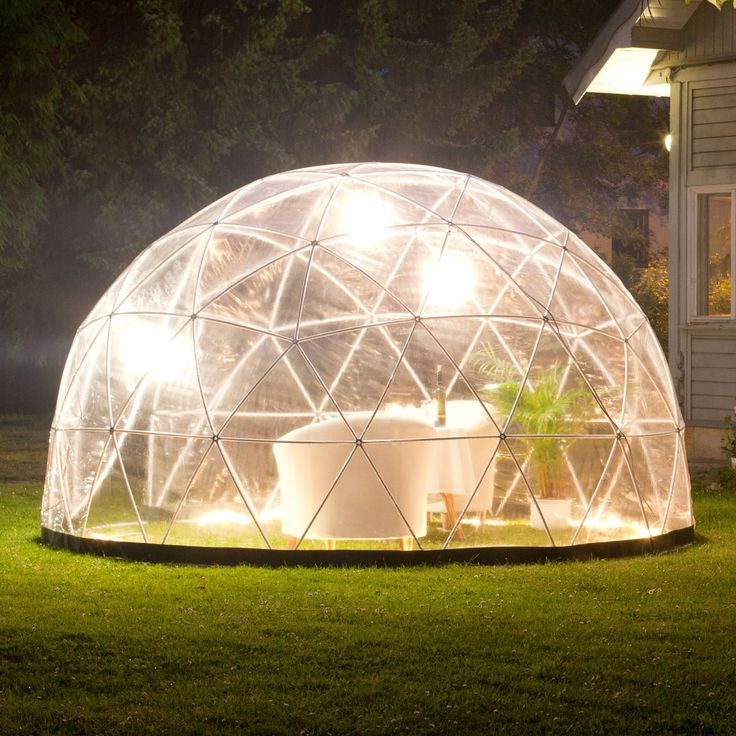 Garden Igloo Pavilion Greenhouse Garden Igloo Four Seasons Amazon Co Uk Garden Amp Outdoors