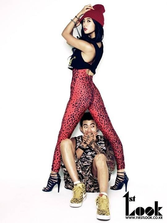 Jay Park and Clara are a sexy hip hop couple for '1st Look' | allkpop