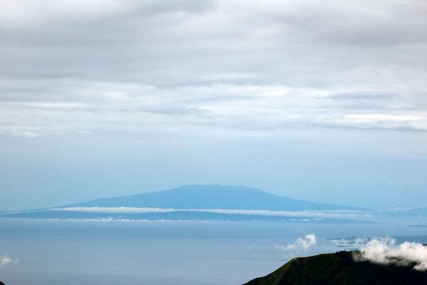 Mt. Tambora. Seen from Mt. Rinjani