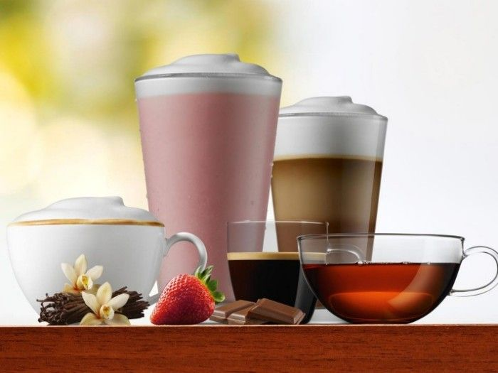 FRANKE coffee beverages overview A600 perfect MilkFoam 2000x1500px