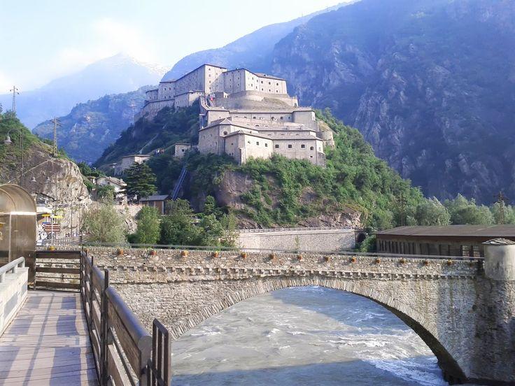 Italie (Val d'Aoste) fort de Bard Juin 2013