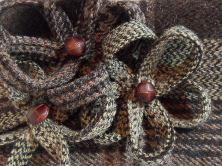 Got tweed scraps - this looks do-able!