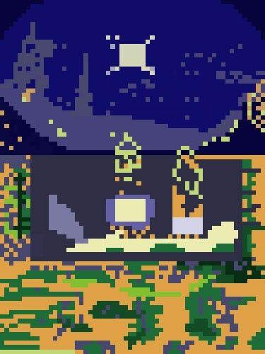 Copia di La Costellazione di Orione di Balla in Pixel Art