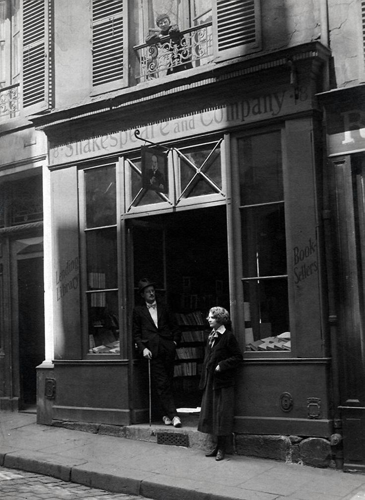 The first Shakespeare & Co at 8, rue Dupuytren Paris 75006 from 1919 to 1921.