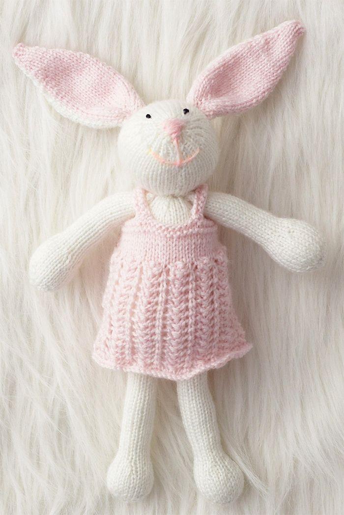 Bunny Rabbit Knitting Patterns | Animal Knitting Patterns ...