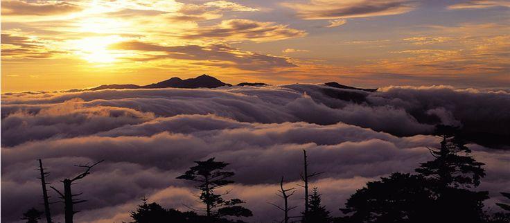 Sunrise at Mt.Cheonwang Peak