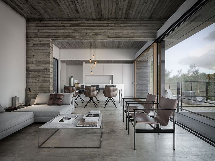 House in Nature by Design Raum