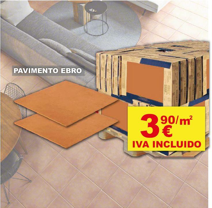 ¡LOS MEJORES PRECIOS EN AZULEJOS Y PAVIMENTOS! Pavimento Ebro 33,3 x 33,3 cm a sólo 🔴3,90€ / m2🔴 IVA INCLUIDO. Visita nuestra exposición de azulejos LOW COST en nuestro almacén de San Vicente Del Raspeig, y compruébalo por ti mism@! Te esperamos! www.roquemateriales.com #ConstruyetusIdeas ✌️👨🔧👩🔧