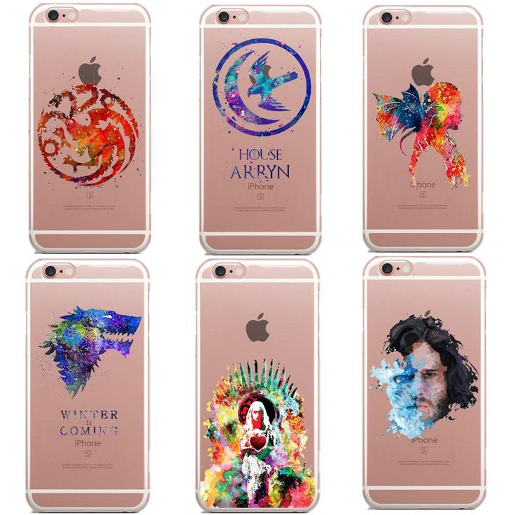 Clear Game Of Thrones Phone Case For iPhone //Price: $8.99 & FREE Shipping //     #gameofthronesfamily