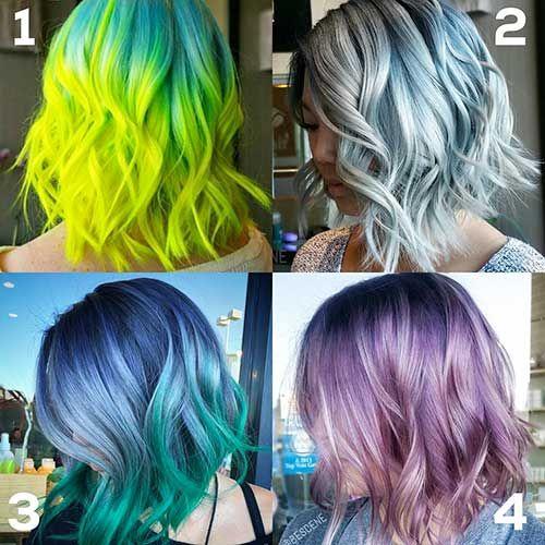 18-Hair Color for Short Hair