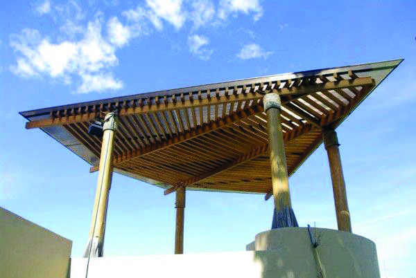 Unfamiliar Pergola Canopy Installation Just On Shopyhomes Com Modern Pergola Pergola Designs Modern Pergola Designs