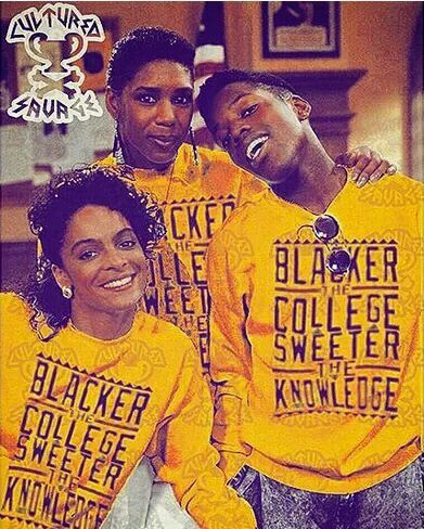 A Different World- the sweat shirt is what I'm looking for