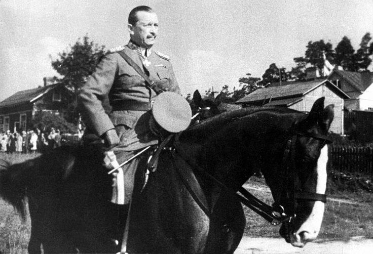Marshal Mannerheim 1939