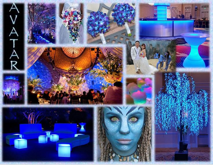 Transport your guests to Pandora with an Avatar themed wedding and reception! #WeddingsbyWizardConnection