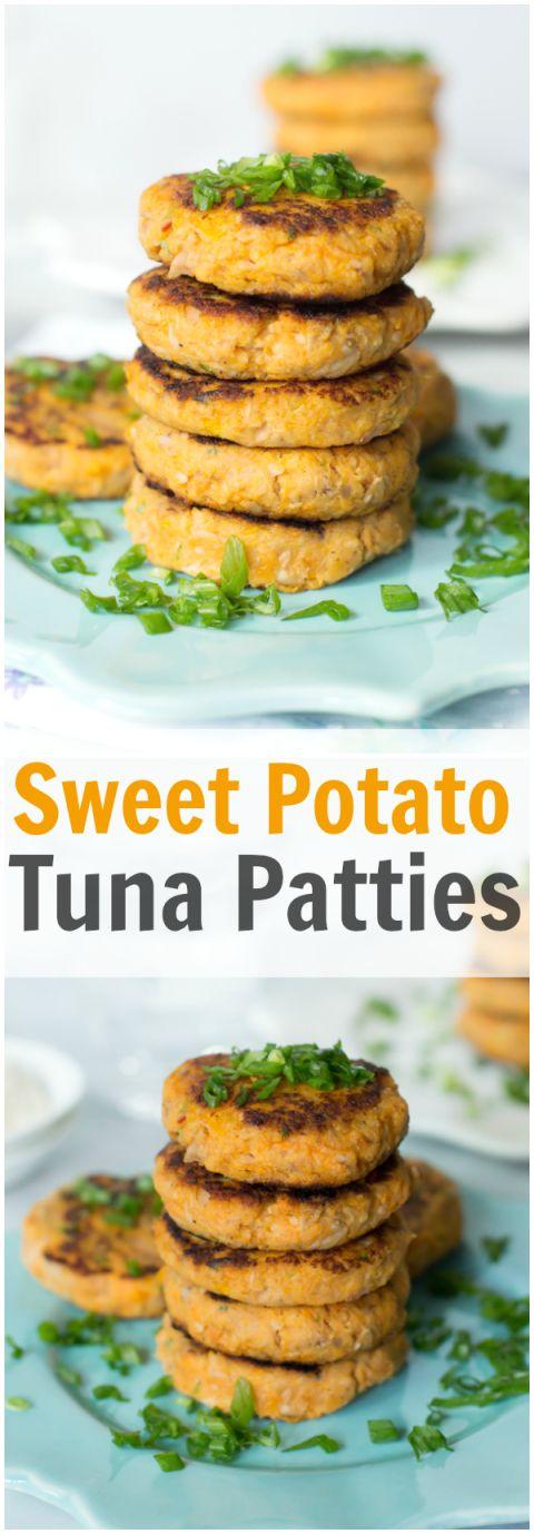 Sweet Potato Tuna Patties