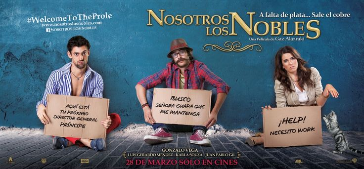 """Mexican Comedy about three rich and spoiled brothers who suddenly loose all their money and have to live a """"normal life""""...working."""