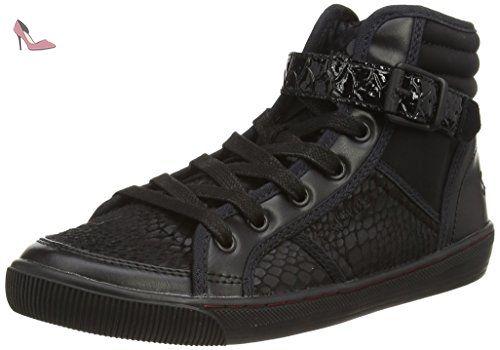 s.Oliver  252, Sneakers Basses femme - Noir - Noir, 39 EU - Chaussures soliver (*Partner-Link)
